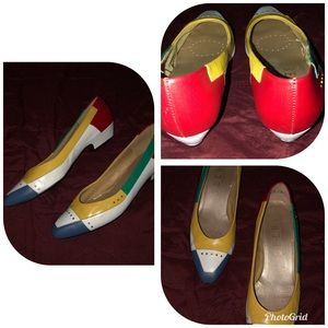 Vintage Selby Flats Colorful size 8